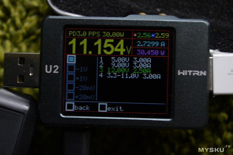 CR-02C Мини обзор автомобильного зарядного устройства на 30ватт (typ-c +usb-a)