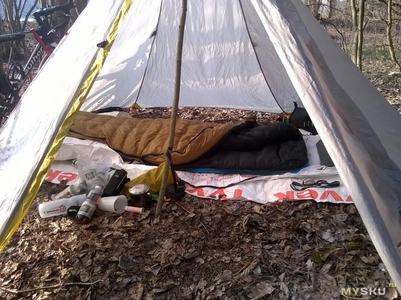 Спальник-одеяло Aegismax Light на гусином пуху. Моя топовая покупка на AliExpress!