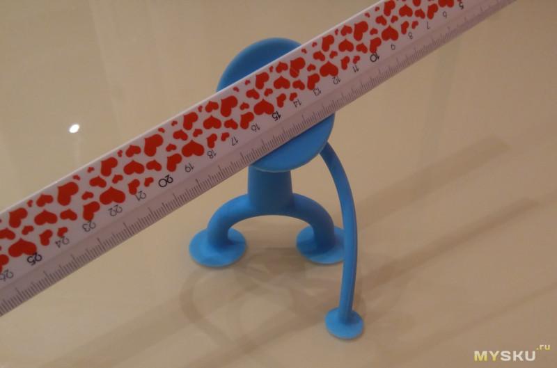Игрушка: силиконовый присоска-парень 12 см
