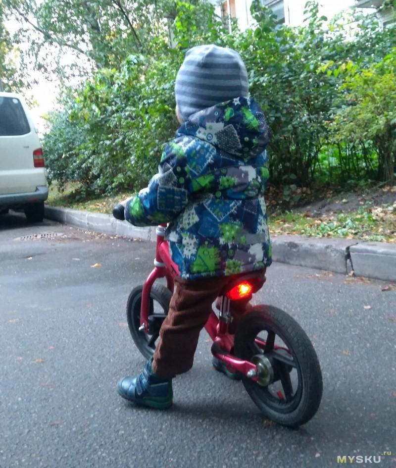 Небольшой обзор маленького велофонаря  MUQGEW