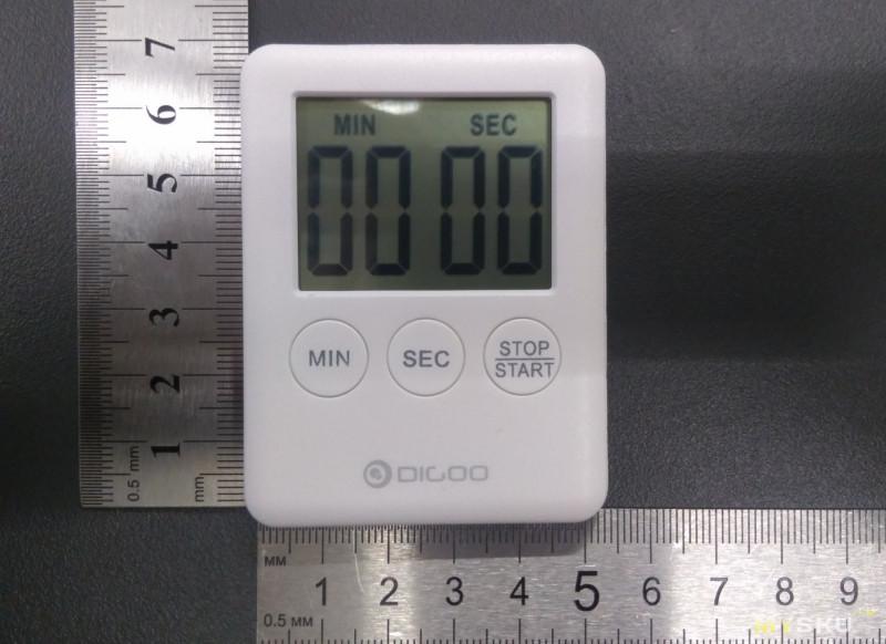 Кухонный таймер Digoo DG-TK30 и работа над ошибками