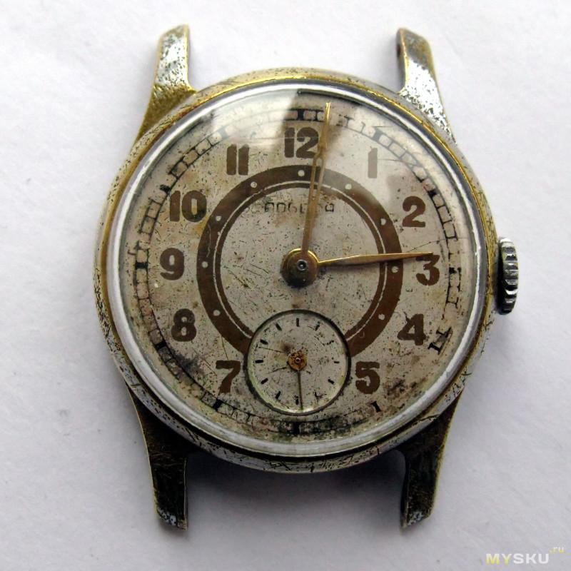 """Часы """"Победа"""". Прикосновение к символу эпохи."""