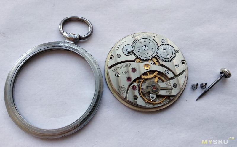 """Часы """"Молния"""" калибр ЧК-6. О тонкостях тонкого калибра."""