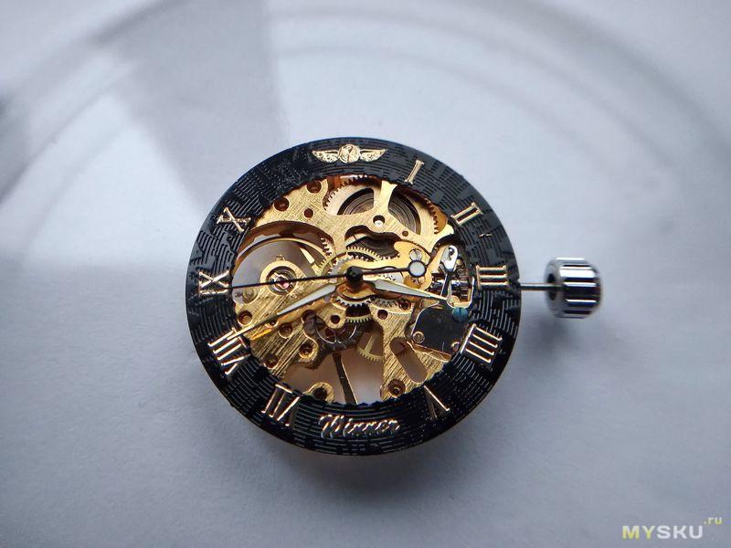 Часы Winner, калибр СН2650SG, или так ли страшен скелетон за 20$?