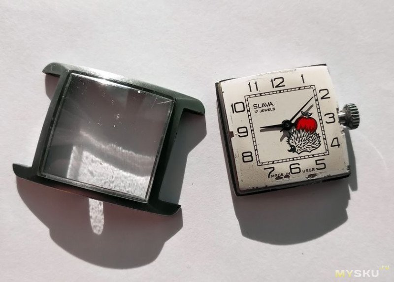 """Детские часы """"Слава"""" на калибре 1601, или """"Ёжик в тумане""""."""