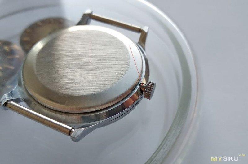 Футор часы корона металлическая