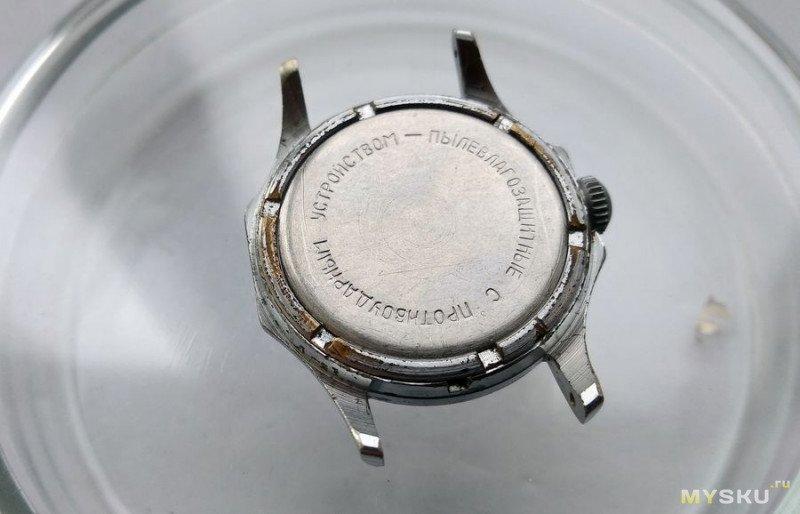 """Часы """"Восток"""" калибр 2605 (почти) 17 камней. Смех сквозь слёзы."""