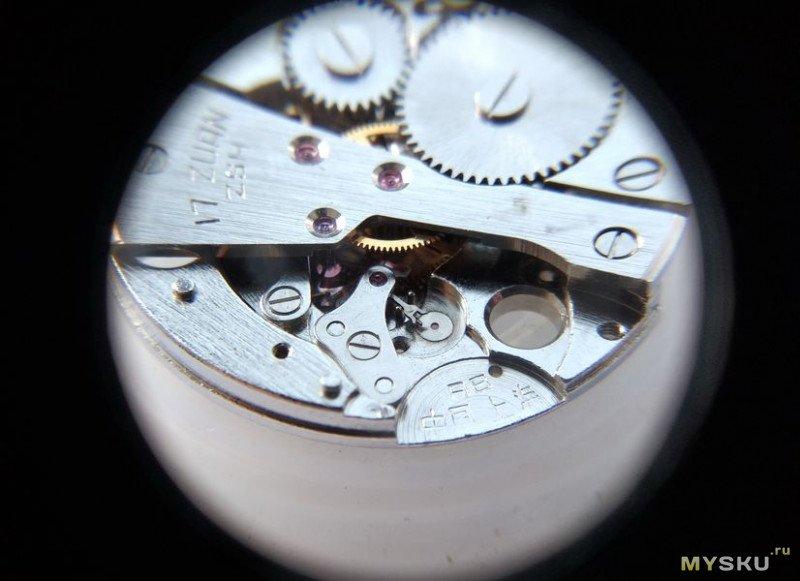 """Часы CARDI калибр ZSH 17 камней. Профилактика и ремонт, или """"Русский с китайцем - братья навек"""" (С)"""