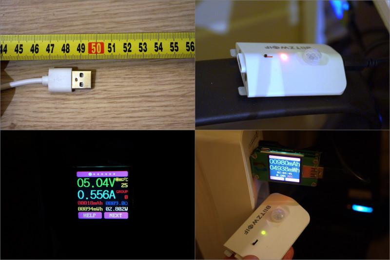 Лампа BlitzWolf BW-LT8 для подстветки рабочей области со съемным аккумулятором и датчиком движения