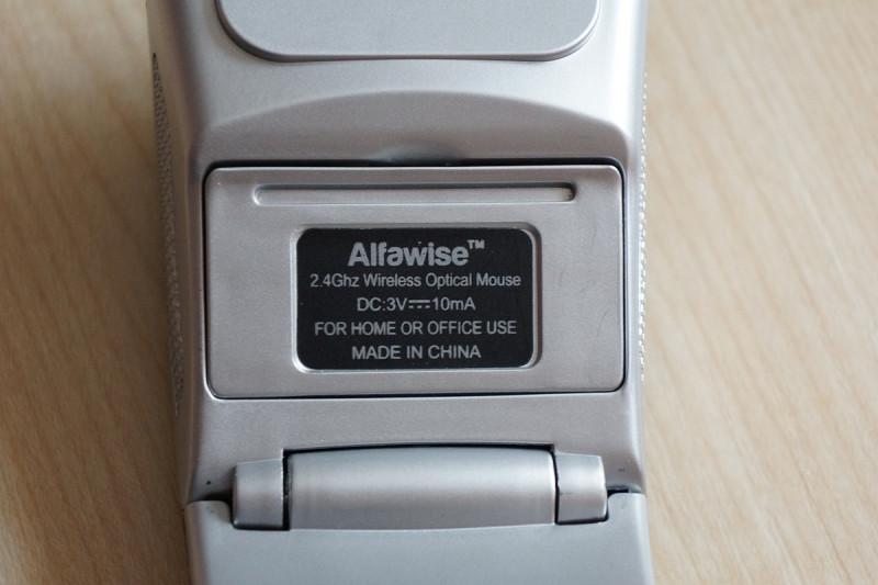 Складная беспроводная мышка Alfawise WM04 2.4G