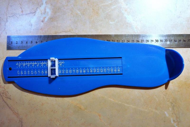 Приспособление для измерения размера стопы