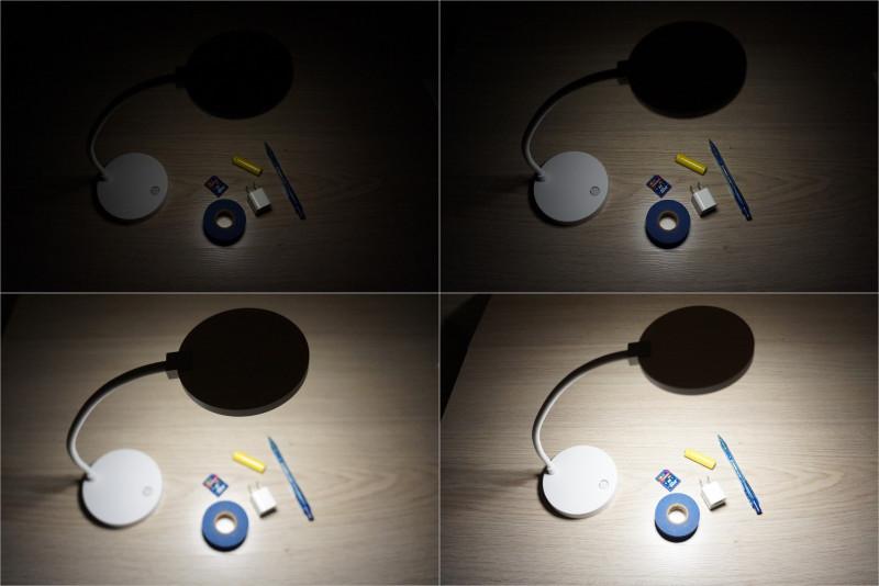 Аккумуляторная настольная лампа Xiaomi COOWOO U1 LED за 15.90$