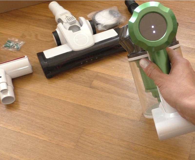 AliExpress: Ручной беспроводной пылесос, Proscenic P9 Уберет все! Легко!