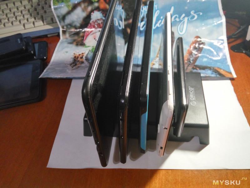 Подставка для телефонов, планшетов Orico DK305