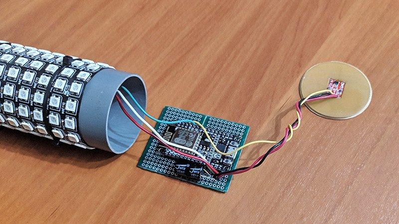 Светодиодная Wi-Fi лампа (GyverLamp) - мой вариант изготовления