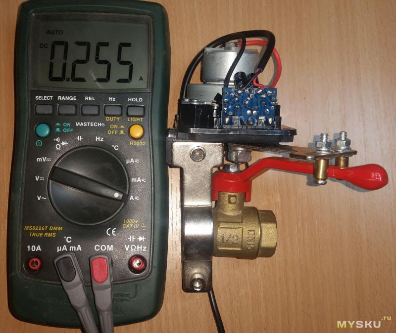 Левше на заметку: Электрический привод крана.