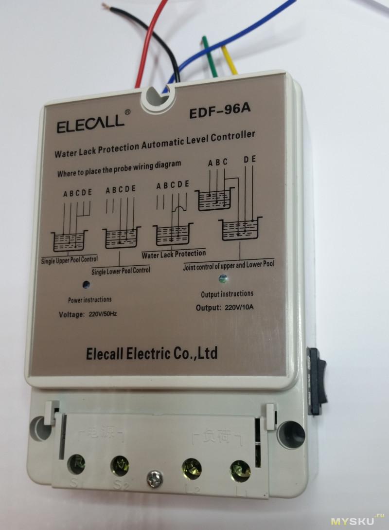 Левше на заметку: Контроллер насоса EDF-96A