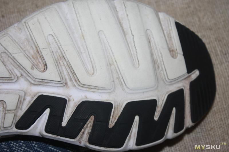 Летние кроссовки Li-Ning ARBM115 после сезона носки