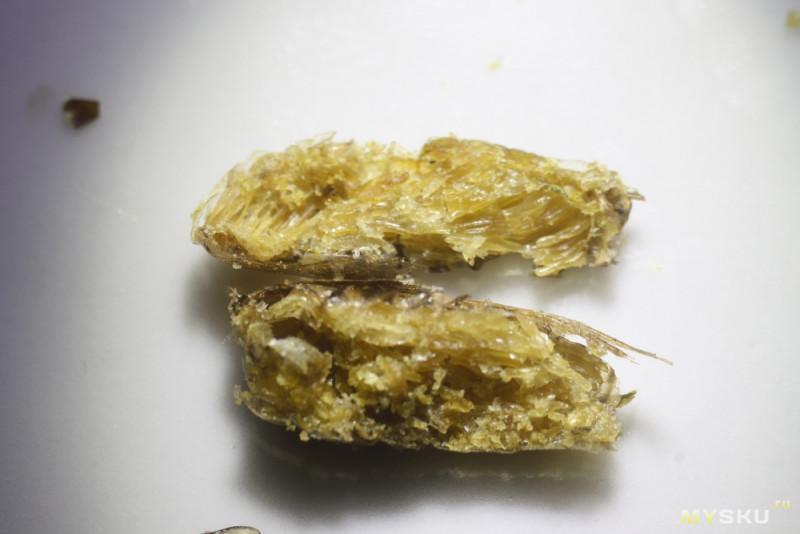 Дичь-пакеты с ebay. Сушено-соленые сверчки и личинки шелкопряда из Таиланда.
