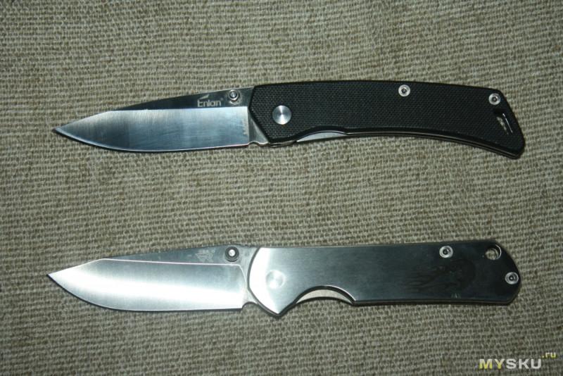 Сравнительный обзор мелконожиков Sanrenmu 7010 и Enlan M07. Стиляга против простачка.