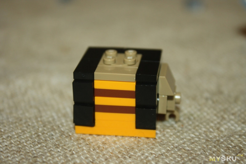 8-битный енот. Интересный конструктор из серии LOZ BrickHeadz - Lego на минималках.