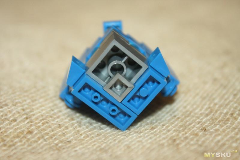 Кубикомания #2. Конструктор Оптимус Прайм из серии LOZ Cube Dude