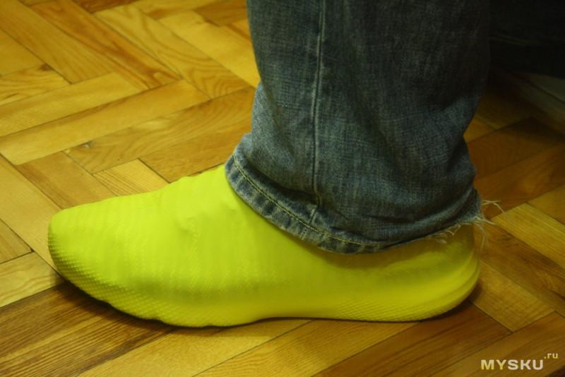 iMokrostupy. Силиконовые противодождевые чехлы для обуви