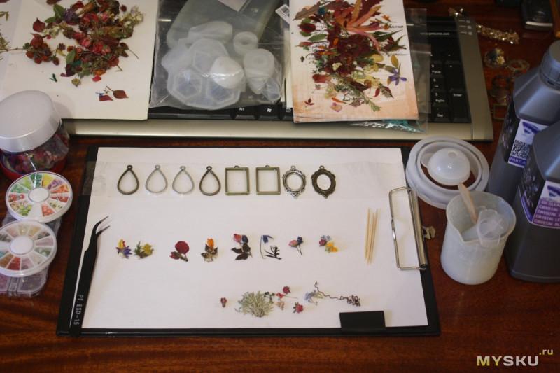Сеттинги для изделий из эпоксиной смолы и изготовление украшених на их основе. Рукоделия пост