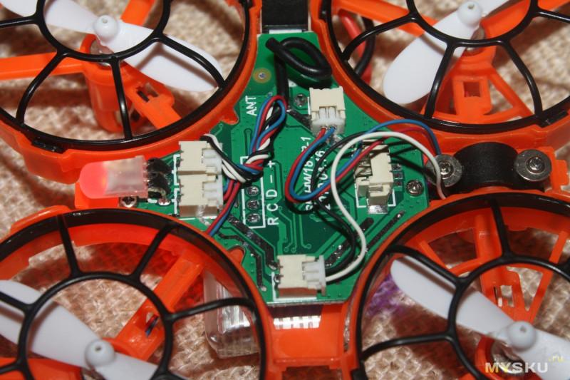 Квадрокоптер-трансформер Eachine-E016F