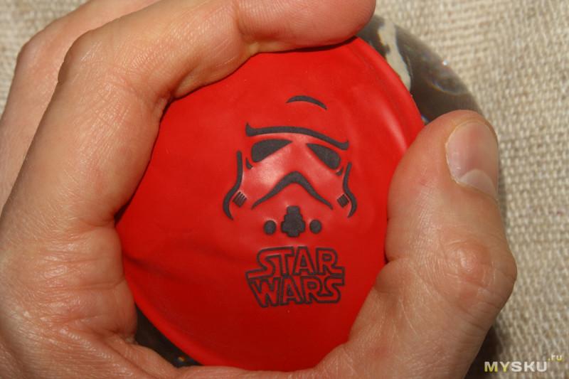 """Надувные шары с принтами по тематике """"Звездных войн"""""""