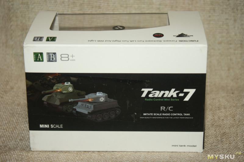РУ-модель танка Т-34 Happy Cow Tank-7. И танчики наши быстры...