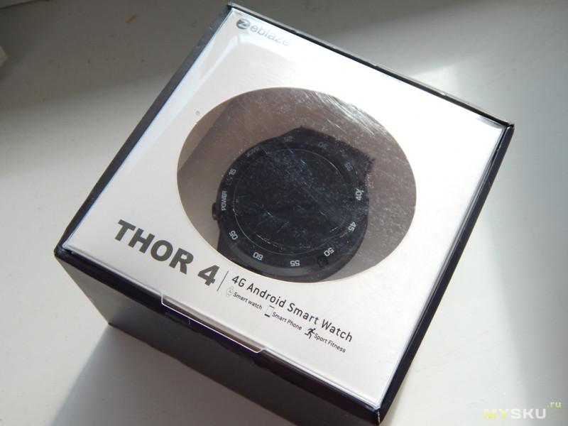 Многоликий Zeblaze Thor 4. трафик!