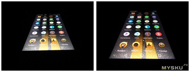 Замена экранного модуля на Sharp Aquos S2