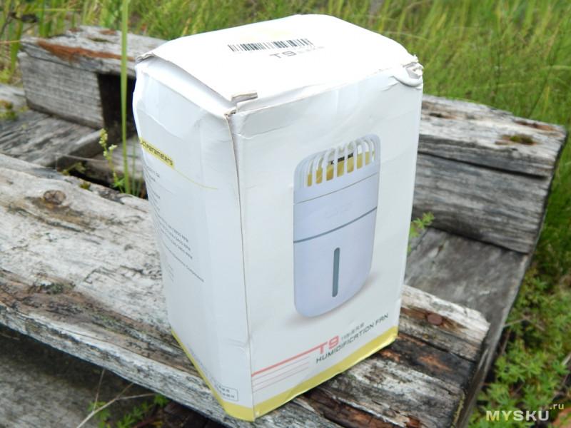 Мини обзор на WT-T9 мини комбайн: увлажнитель, вентилятор