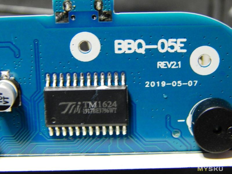 Термометр IBT-4XS с 4 выносными зондами (датчиками) и беспроводной связью