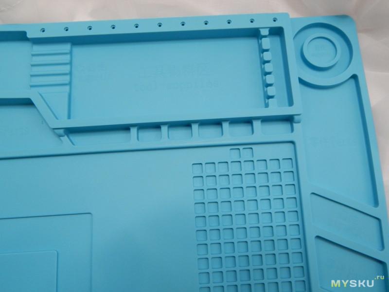 Силиконовый коврик DANIU 45x30 для монтажа и пайки