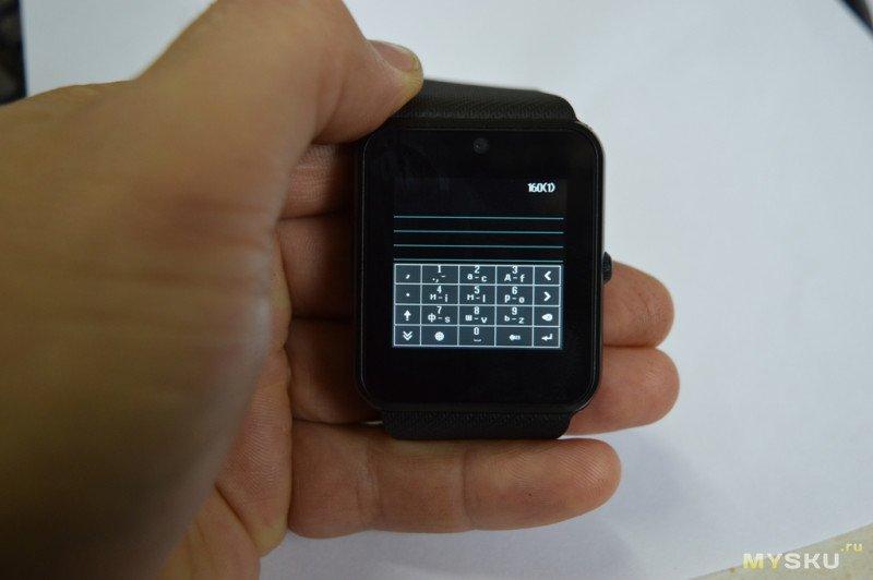 Ультрабюджетные смарт-часы GT08