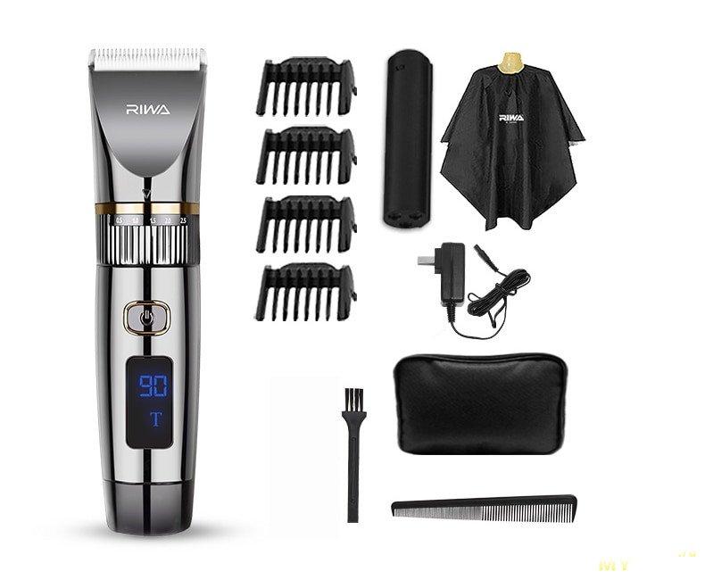 Электрическая машинка для стрижки волос Riwa RE-6501T за 26.99$