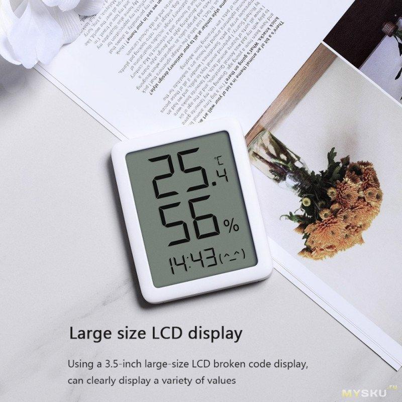 Термометр гигрометр Youpin miaomiaoce MMC с E-ink экраном за .88