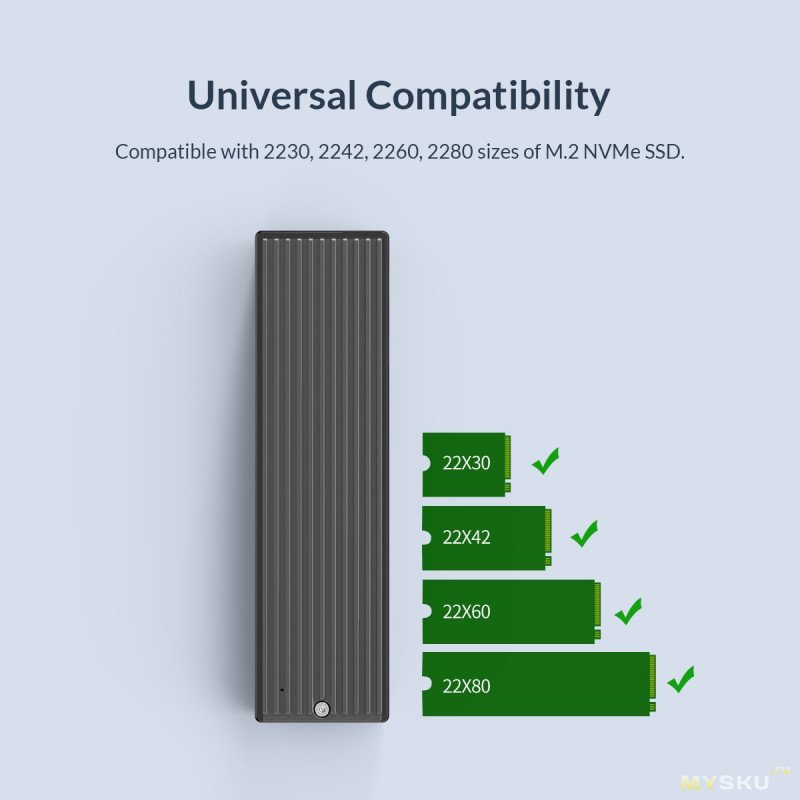 Корпус CORICO LSDT для M.2 NVME с USB Type-C NGFF - 5Gbps, NVME - 10Gbps или NVME - 20Gbps или за 7.61$, 13.64$ или 34.04$