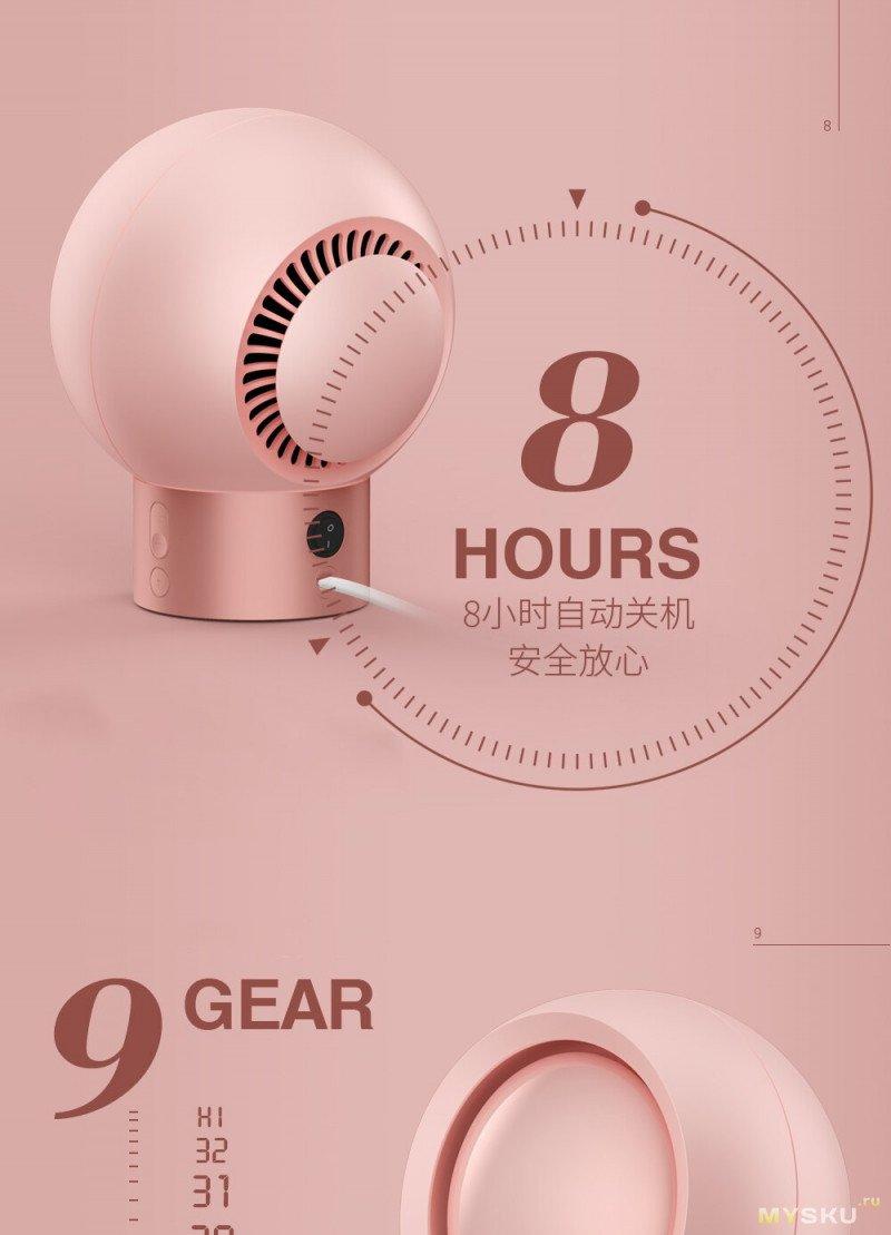 Электрический нагреватель 3Life, умный дисплей температуры, 9 скоростей подогрева за 21.30$