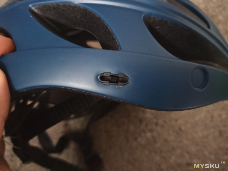 Велошлем с очками-визором от ROCKBROS