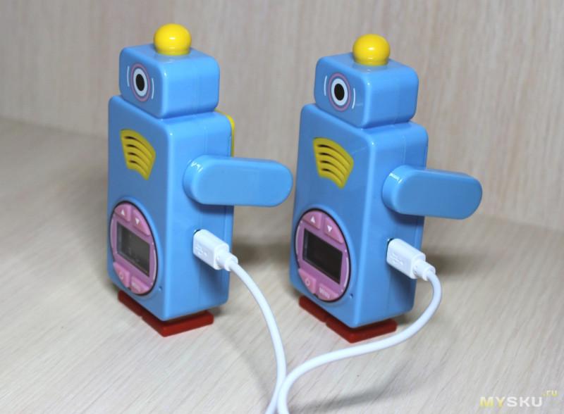 Детские рации Retevis RT36 с USB зарядкой и функцией радио-няни