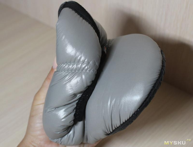 Тёплая зимняя обувь KingCamp - серые тапатушки