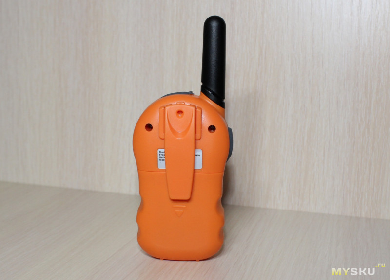 "Детские рации CR388A Kids Walkie Talkies Intercom с функцией ""радио-няня"""