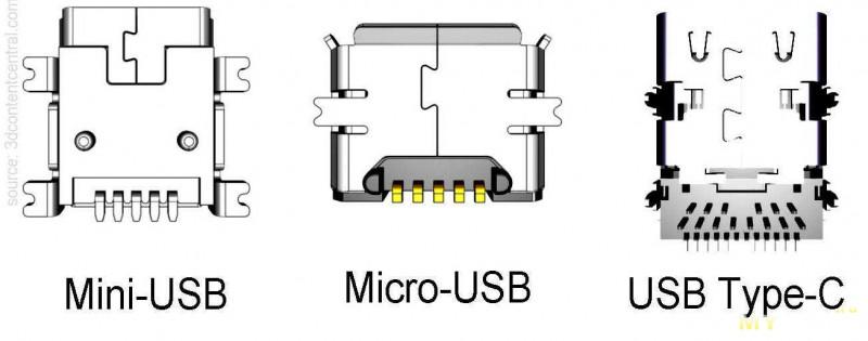 Разъем USB Type-C теперь с шестью выводами