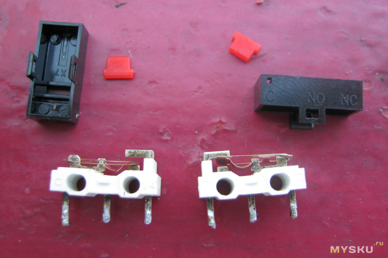 Кнопки-микропереключатели D2FC-F-7N для мыши, китайский Omron