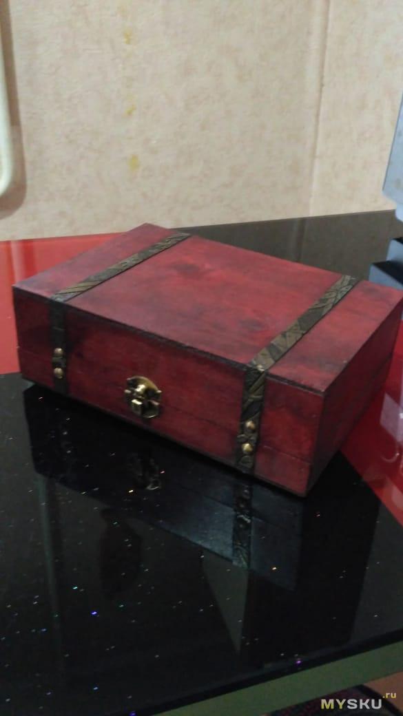 Винтажная подарочная коробка - Ящик пандоры или китайцы могут все!)