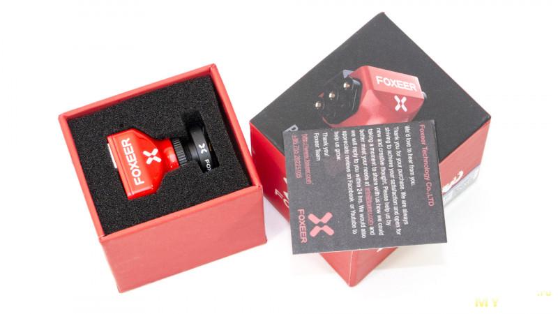 Курсовая камера для fpv моделей foxeer predator mini Комплект поставки включает в себя саму камеру predator mini и объектив кронштейны для крепления камеры с набором винтов плату для настройки камеры osd