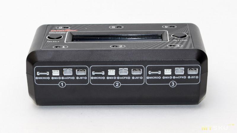 Шестипортовое зарядное устройство для 1S RC аккумуляторов – Ultra Power UP-S6AC